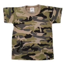 Baby shirt - Camo Groen