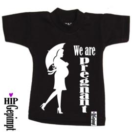 Mini shirt - We are pregnant
