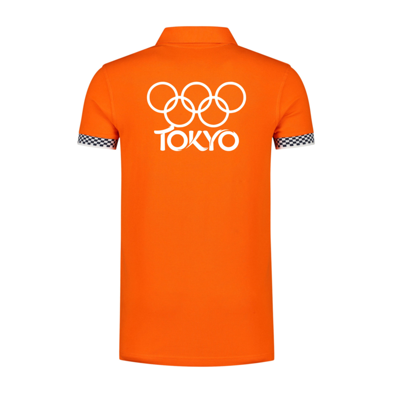 Olympische spelen Tokyo  Polo FINISH vlag