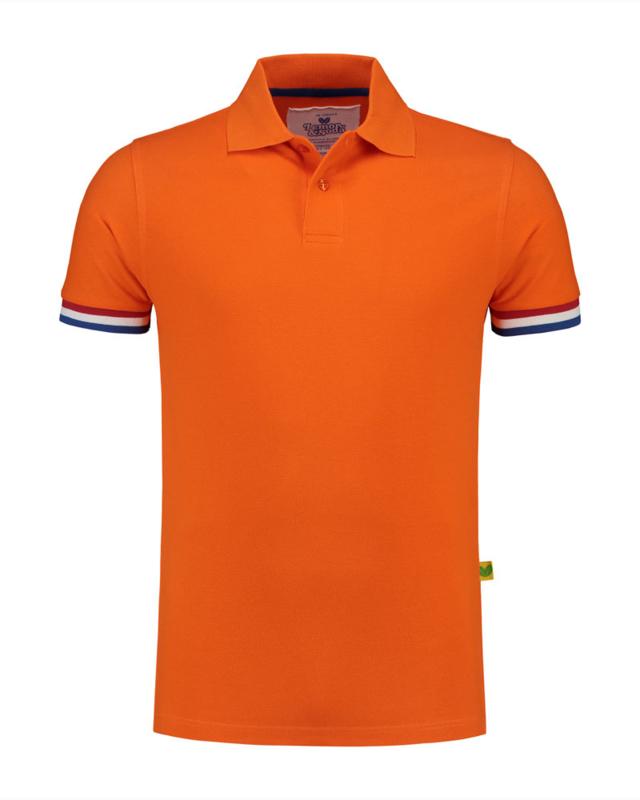 Oranje Polo NL vlag