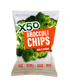 BROCCOLI CHIPS - BBQ FLAVOUR