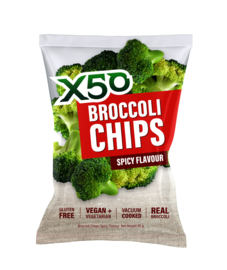 BROCCOLI CHIPS - SPICY FLAVOUR