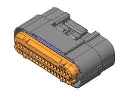 ECU Connector met krimpcontacten