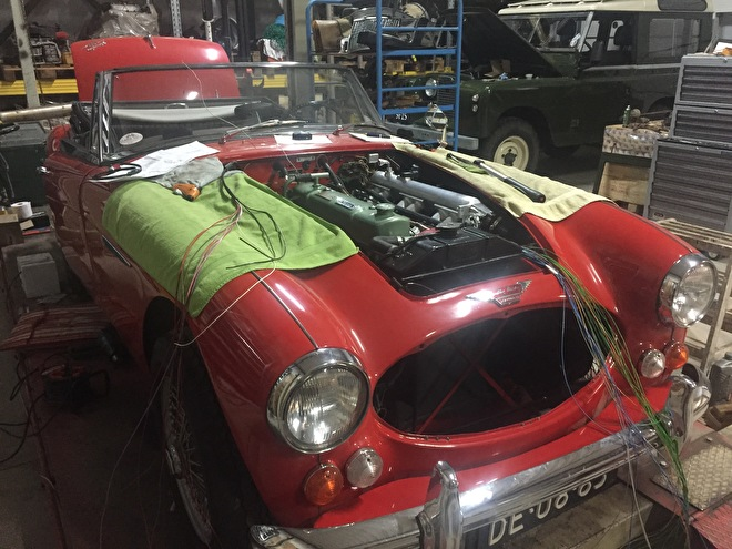 Austin Healey kabelboom / Wiring loom