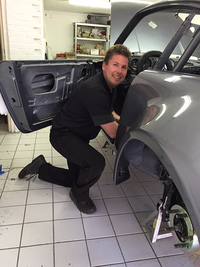 Porsche 911 opstart