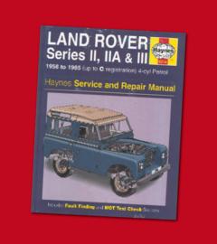 Haynes Land Rover Series II, IIA en III petrol service and repair manual