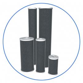 """Koolfilter voor 10"""" Big Blue filterhuis  Aquafilter  FCBBL10BB"""