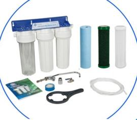 3-Staps KraanWater Filtratie Systeem met anti bacterie filters