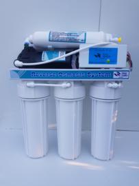 Osmosetoestel 75 GPD + booster  drinkwaterset