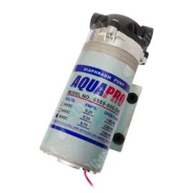 Boosterpomp Aquapro voor osmosetoestel van 400 GPD + transfo