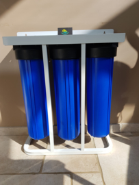 "3 staps Big Blue 20"" filtratiesysteem grondwaterfilter"