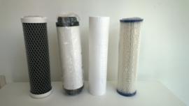 """Set van 4 filters voor regenwaterfilter 10"""""""