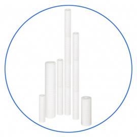 """Sedimentfilter voor 20"""" Big Blue filterhuis 20 micron van gedraaide koord FCPP20M20B"""
