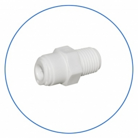 "Quick connect male 1/4"" osmoseslang - 1/4 "" NPT"