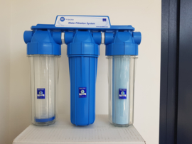"Aquafilter Anti Bacteriele regenwaterfilter ""Petra"" 3 staps"