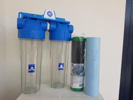 Anti Bacteriele regenwaterfilter 2 staps