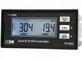 HM digital PSC-60D: Dual Display, Dual Line EC/TDS Monitor