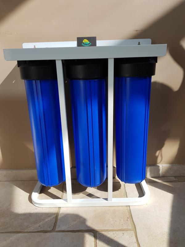 "3 staps Big Blue 20"" filtratiesysteem grondwaterfilter"