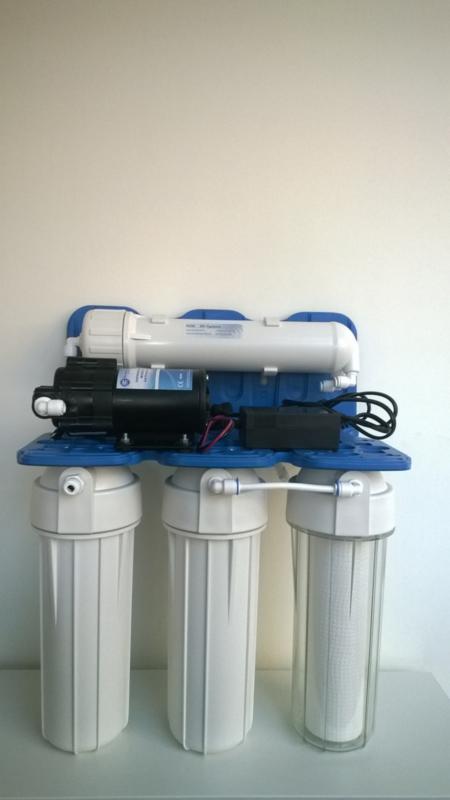 Osmoseur Rush Osmo75TRIO avec Pompe haute pression 5 bars