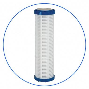"""Sedimentfilter 50µ uitwasbaar voor filterhuis met aftapkraan 10"""""""
