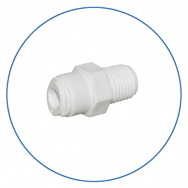 """Quick connect male 1/4"""" osmoseslang - 1/4 """" NPT"""