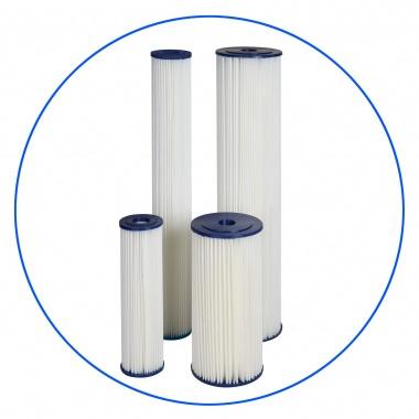 """Uitwasbaar sedimentfilter van 10 micron  voor 10 """" filterhuis  FCCEL10"""