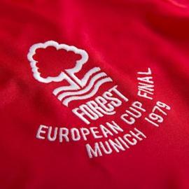 Nottingham Forrest 1979 Europa Cup Finale Retro Voetbalshirt