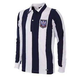 West Bromwich Albin 1953-54 Retro Voetbalshirt