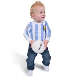 Argentinië Baby voetbalshirt