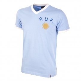 Uruguay Retro voetbalshirt jaren '70