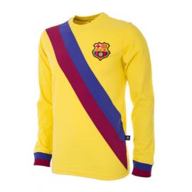 Barcelona Retro Voetbalshirt 1974 Uitshirt