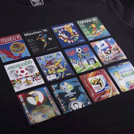 PANINI HERITAGE FIFA WORLD CUP COLLAGE T-SHIRT