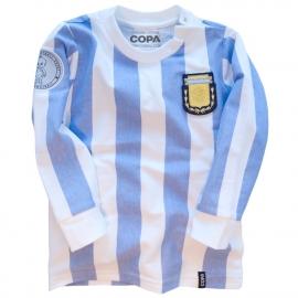 Retro Baby Shirt Argentinien