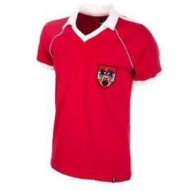 Retro Fussball Trikot Österreich WM 1982