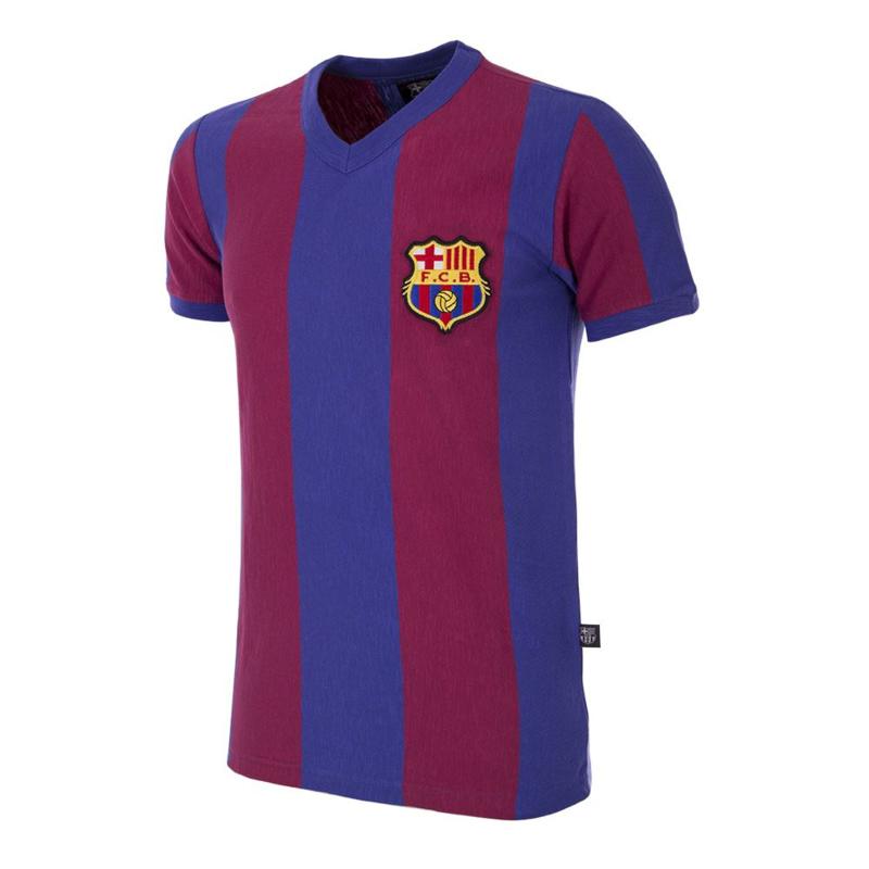 Retro Fussball Trikot FC Barcelona 1955 / 56