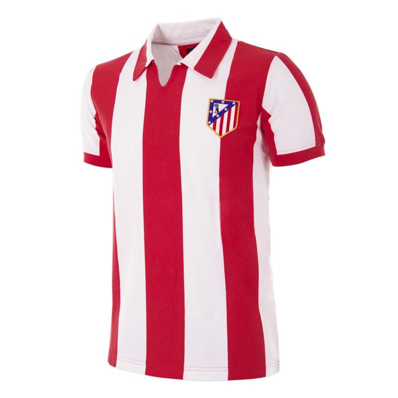Atletico Madrid Retro Voetbalshirt  1970-71
