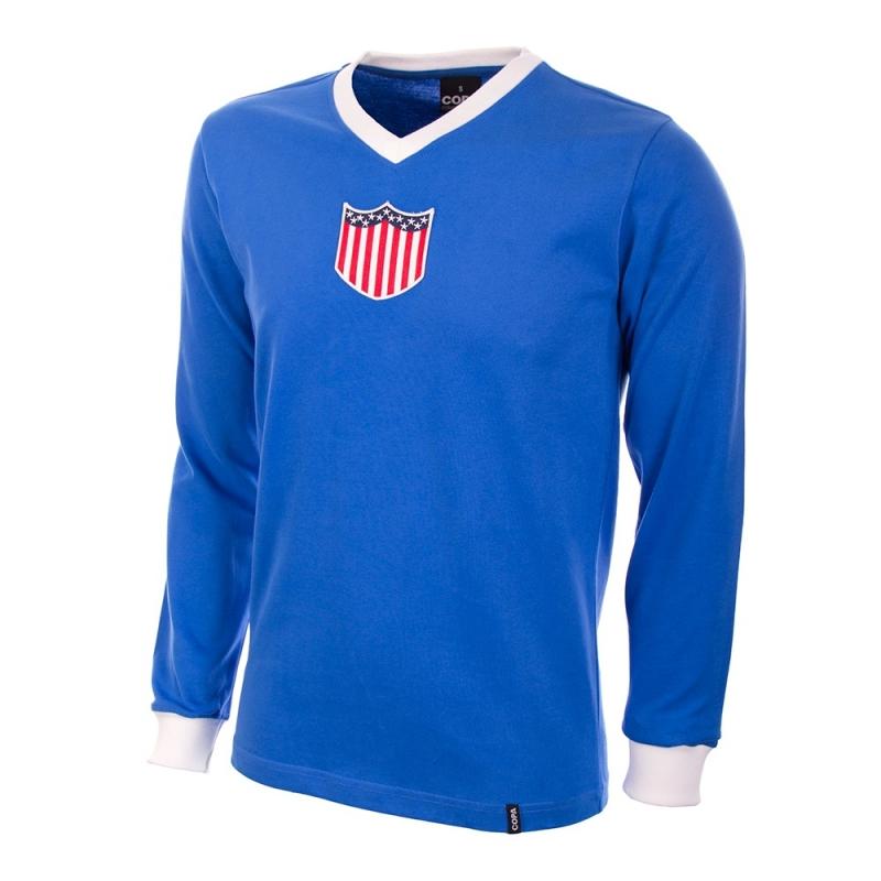 USA Retro voetbalshirt 1934