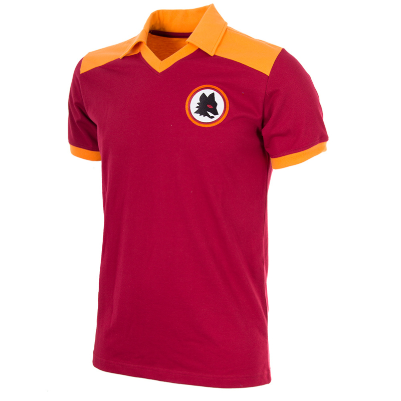 AS Roma Retrovoetbalshirt 1980