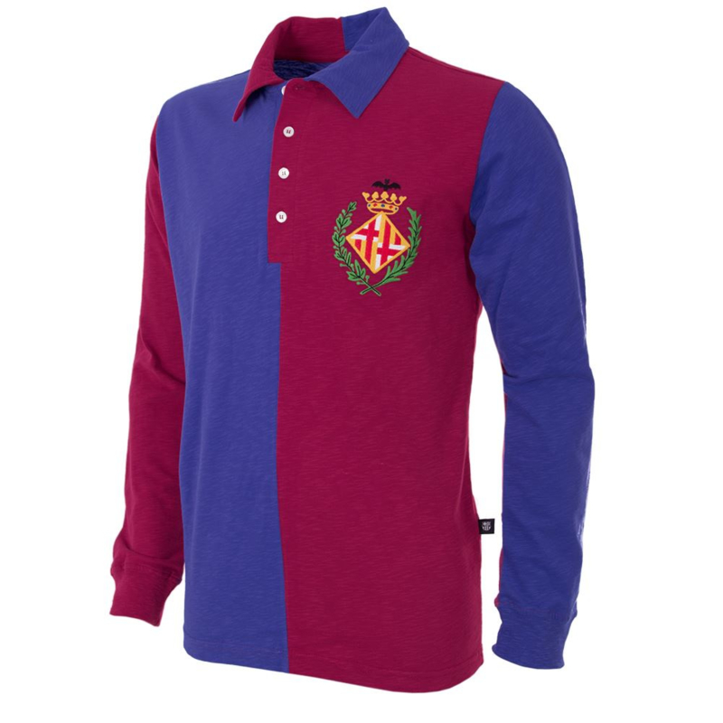 Barcelona Retro Voetbalshirt 1899