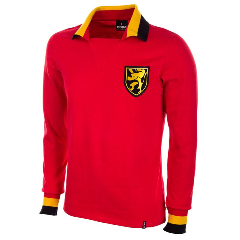 Retro Fussball Trikot Belgien '60