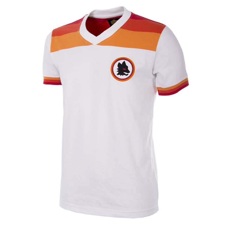 Retro Fussball Trikot AS Roma 1978 / 79 Auswärt