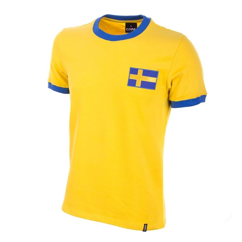 Zweden Retro voetbalshirt jaren '70