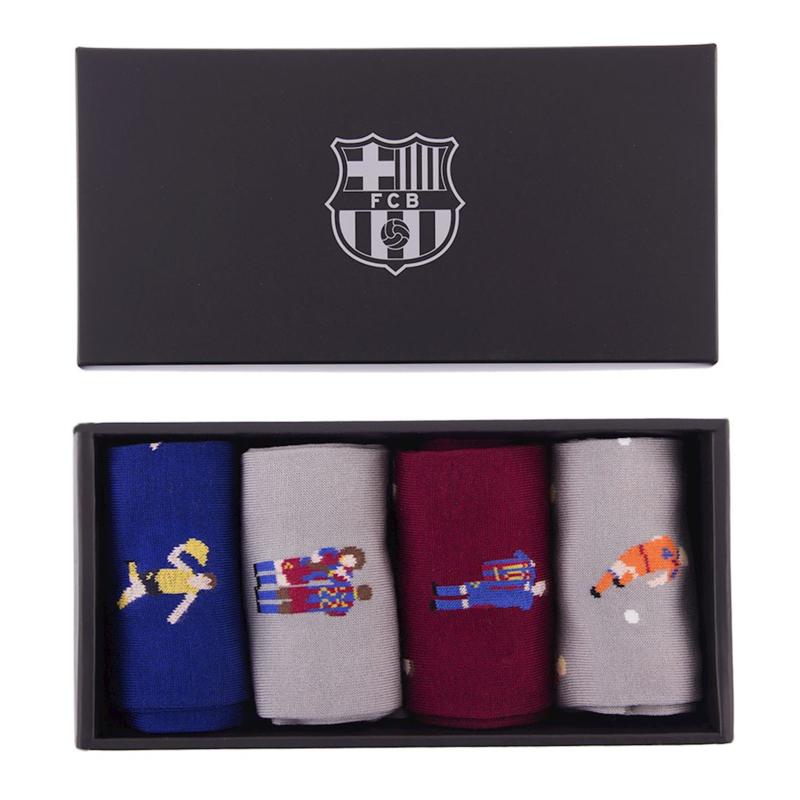 RETRO FC BARCELONA SOKKEN BOX
