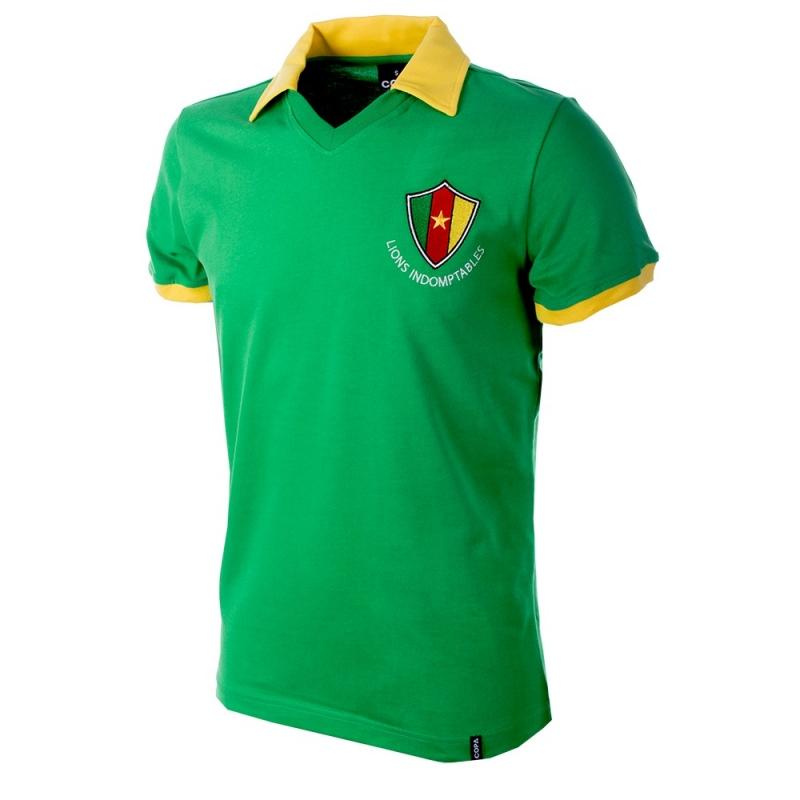 Kameroen Retro voetbalshirt WK 1982