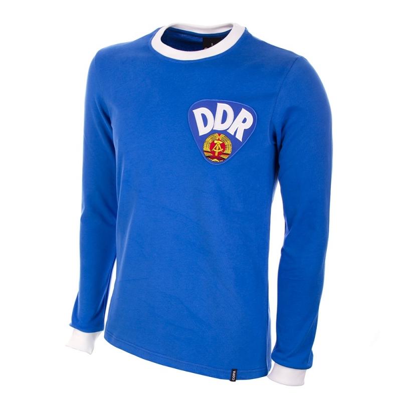 DDR Retro voetbalshirt jaren '70