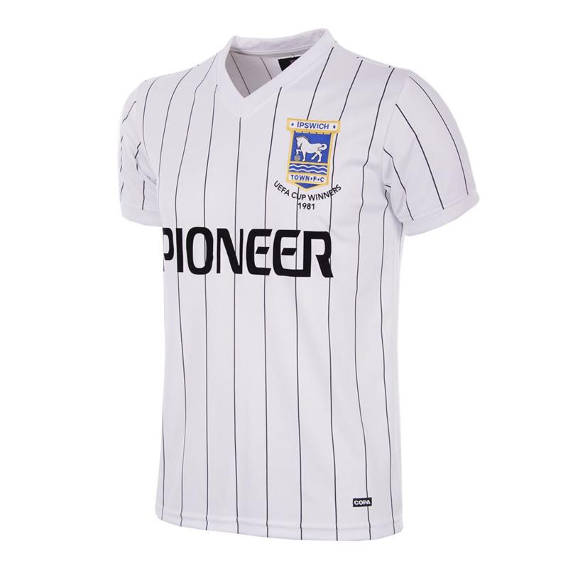 Ipswich Town FC Away 1981-82 Retro Voetbalshirt