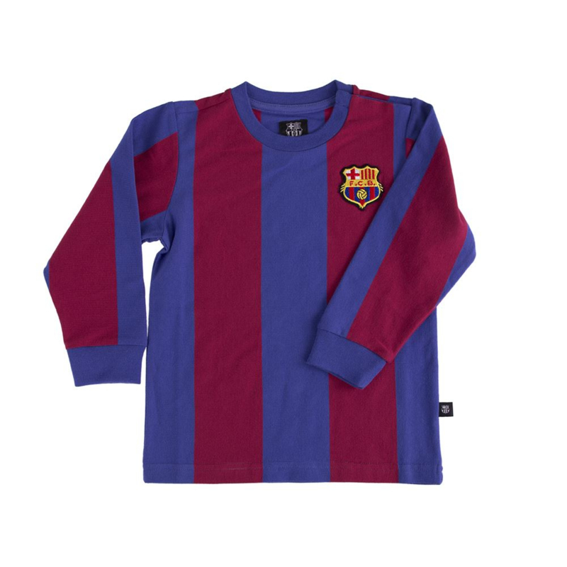 Barcelona Retro Babyshirt