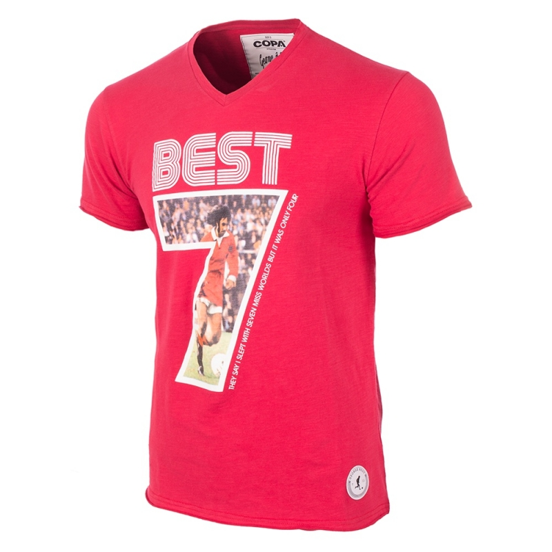 George Best Miss World T-shirt