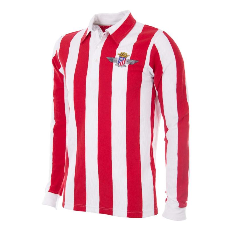 Atletico Madrid Retro Voetbalshirt  1939-40
