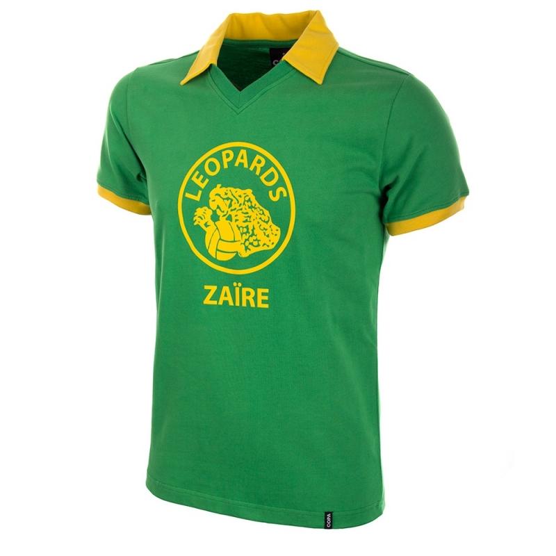 Zaïre Retro voetbalshirt WK 1974